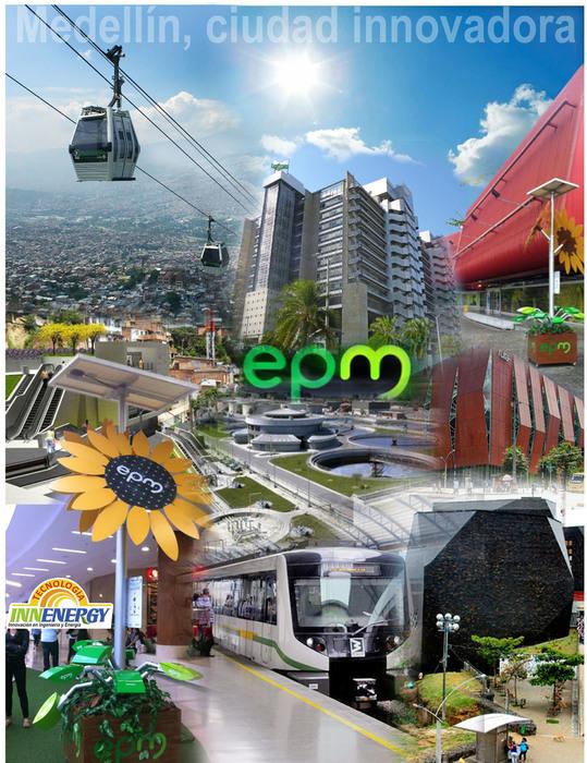 Formamos  parte del paisaje innovador de Medellin.
